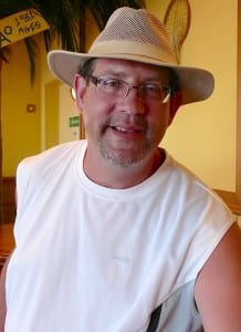 Joe Perticome of Indianapolis is ready for fun and sun aboard the Carnival Breeze.