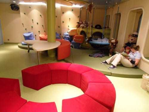 The Kids Club for ages four to ten is only one of many facilities for children.