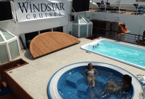 New pool and whirlpool on Star Breeze