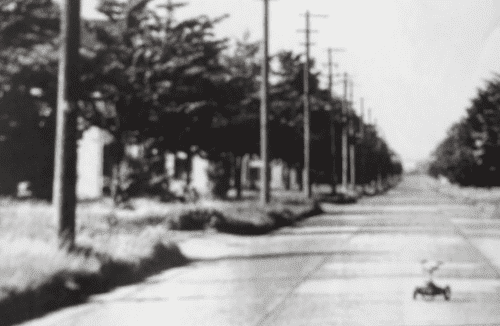 After Grant Heights closed in the 70s – view of the Runway