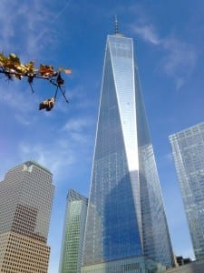 One World Trade Center opens this week at a corner of the site...a sign of rebirth